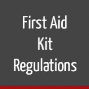 first aid kit regulations